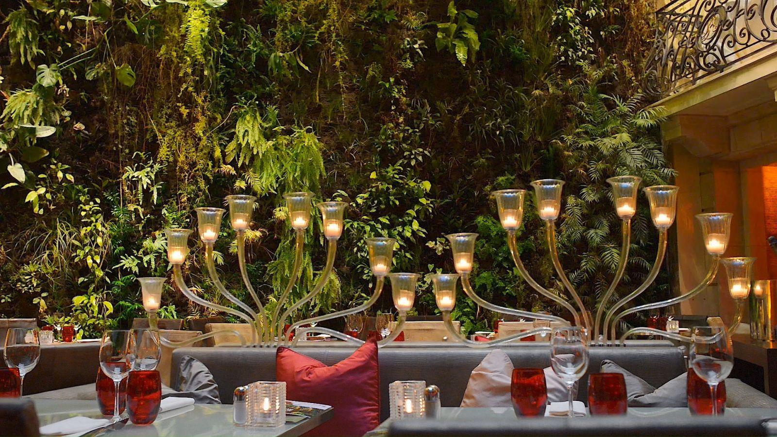Restaurant luxe Paris - Hotel 5 etoiles Pershing Hall