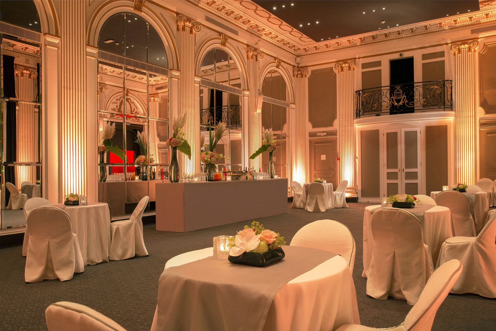 Restaurant gastronomique Paris - Pershing Hall