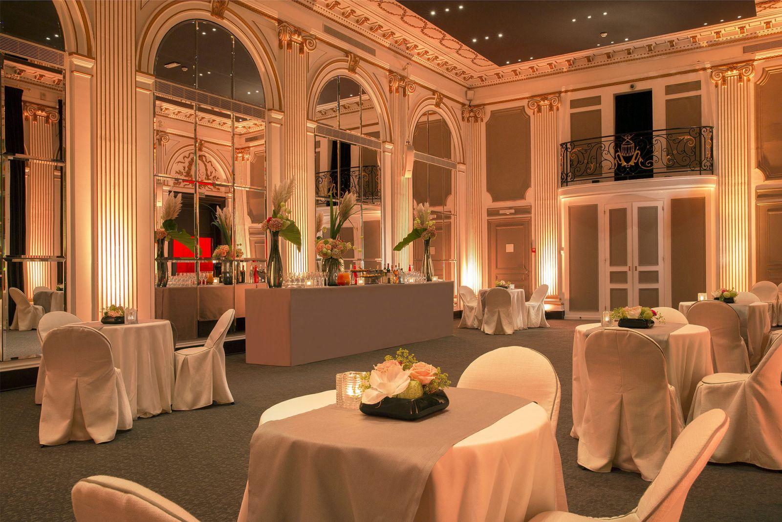 Restaurant gastronomique Paris - Pershing Hall